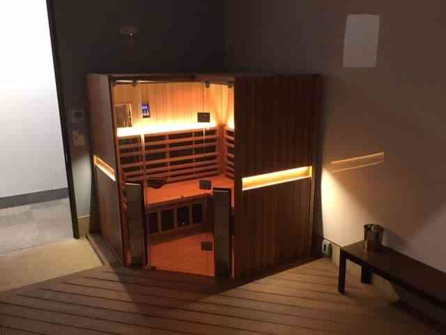 Jacuzzi Infrared Sauna home installation in Whitby, Ontario